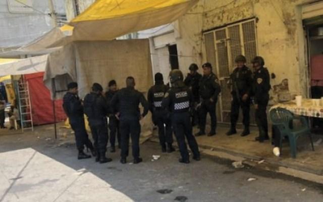 Detienen a cinco en operativo contra venta de droga en Tepito - Foto de MX Político