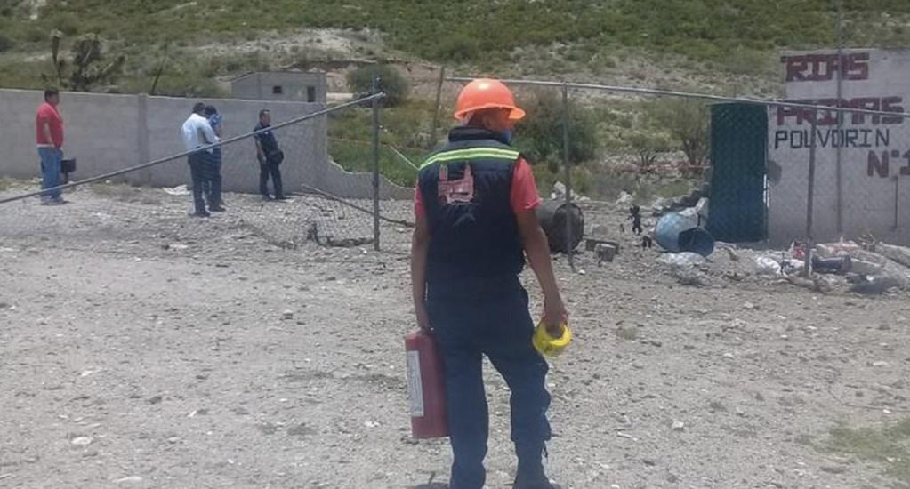 Explosión de polvorín deja un muerto en Hidalgo - Foto de Milenio