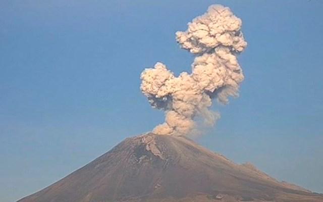Popocatépetl registra tres explosiones esta mañana - Popocatépetl explosiones