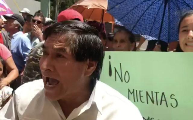 Ni soy tonto ni me chupo el dedo: López Obrador tras reclamos en Chiapas