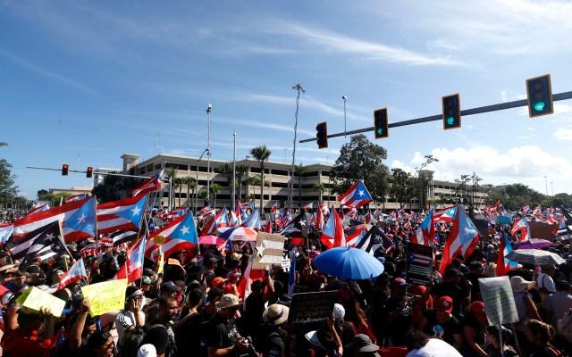 Puertorriqueños marchan e inician paro masivo para exigir renuncia del gobernador - puerto rico paro nacional marchas renuncia gobernador