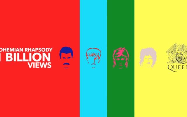 Bohemian Rhapsody alcanza mil millones de visualizaciones - Foto de Queen