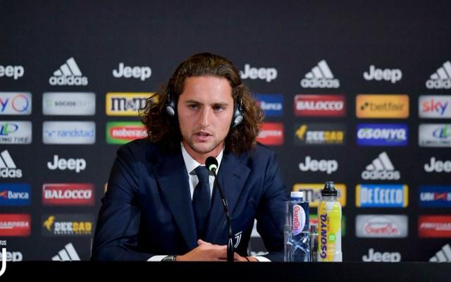 La Juventus está un nivel arriba del PSG: Rabiot - rabiot juventus psg