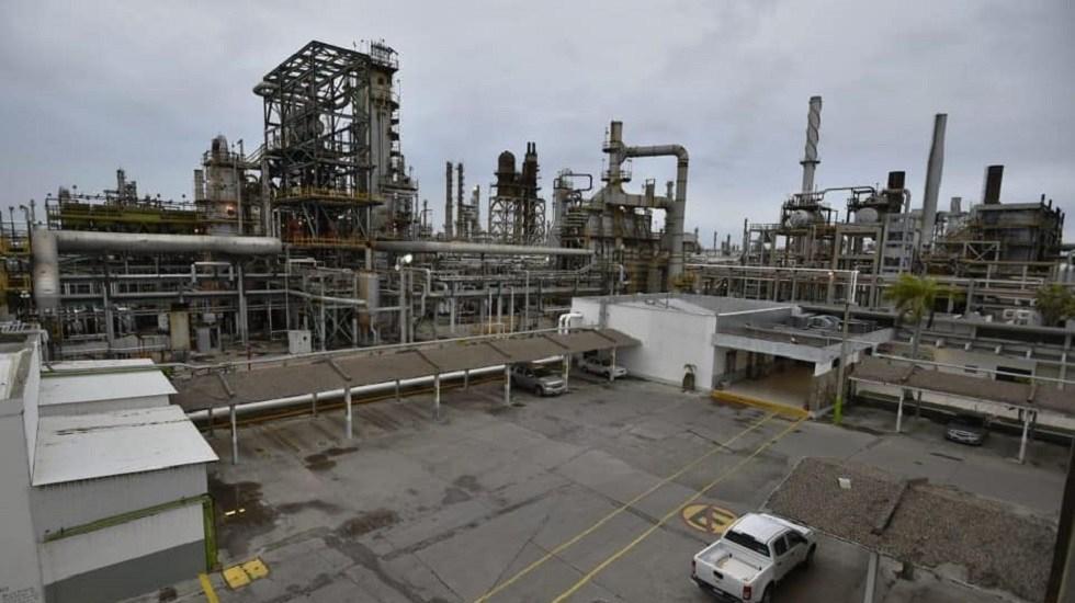 Mezcla mexicana avanza 7.12 dólares por barril - Refinería Francisco I. Madero en Ciudad Madero, Tamaulipas. Foto de Pemex