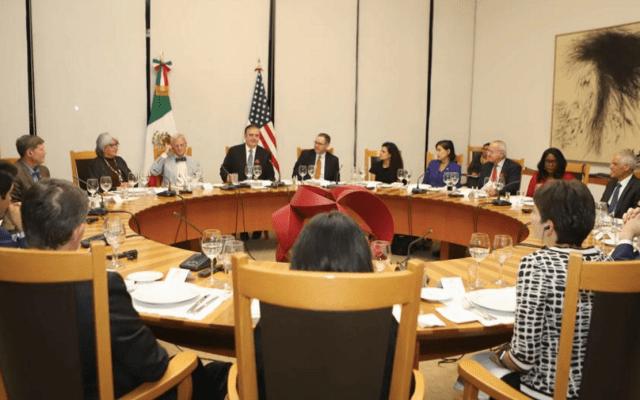 Buena señal reunión de funcionarios mexicanos y congresistas de EE.UU.: Senadores - Foto de Notimex