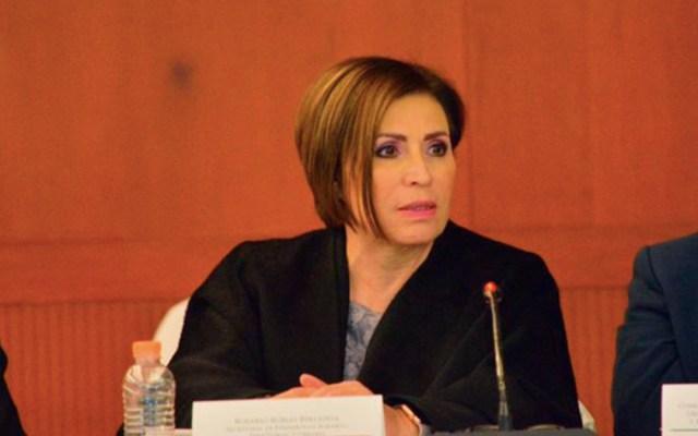 Conceden suspensión provisional a Rosario Robles - rosario robles coparmex