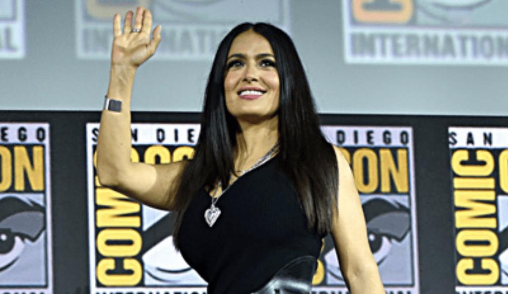 Salma Hayek se integrará al Universo Marvel. Noticias en tiempo real