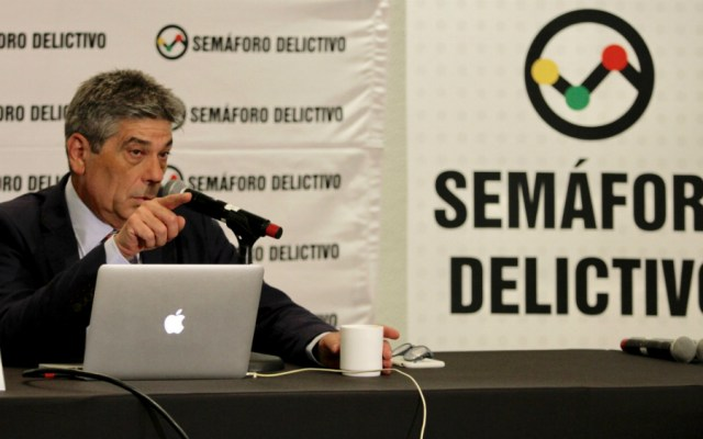 Semáforo Delictivo reporta aumento de extorsión, feminicidio y secuestro - Santiago Roel, director de Semaforo Delictivo. Foto de Notimex