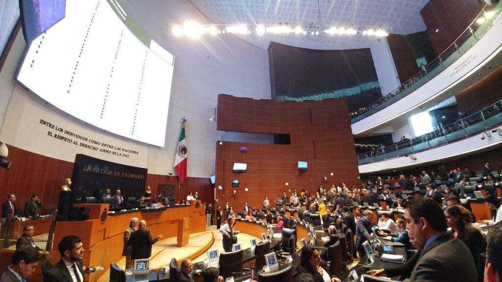 Senado entrega a diputados minuta de Ley de Austeridad Republicana - Foto de @NoticiaCongreso