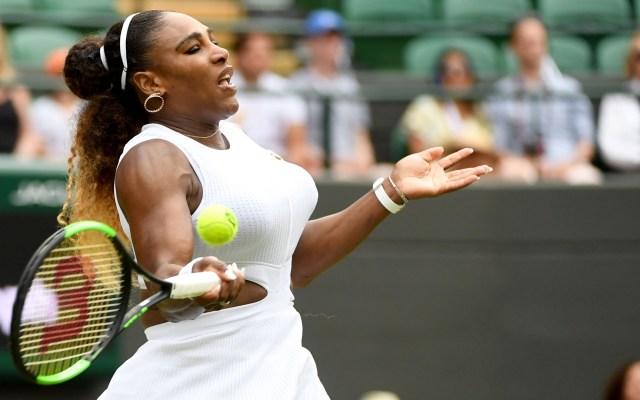 Serena supera a Goerges y enfrentará a Suárez en octavos de Wimbledon - Serena Williams tenis Wimbledon