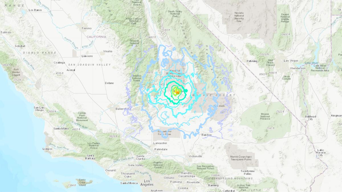 Sismo de magnitud 4.9 sacude a California