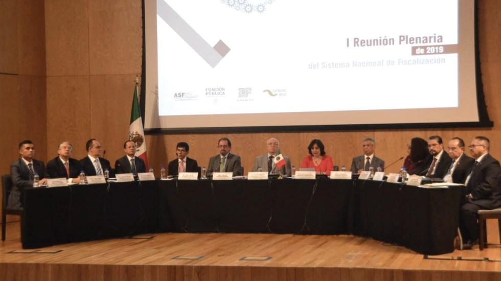 Sistema Nacional de Fiscalización realiza reuniones plenarias - Foto de @ASF_Mexico