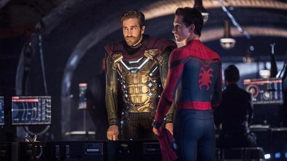 'Spider-Man: Lejos de casa' envuelve en su telaraña la taquilla de EE.UU. - Escena de Spider-Man: Far from home. Foto de @tomholland2013