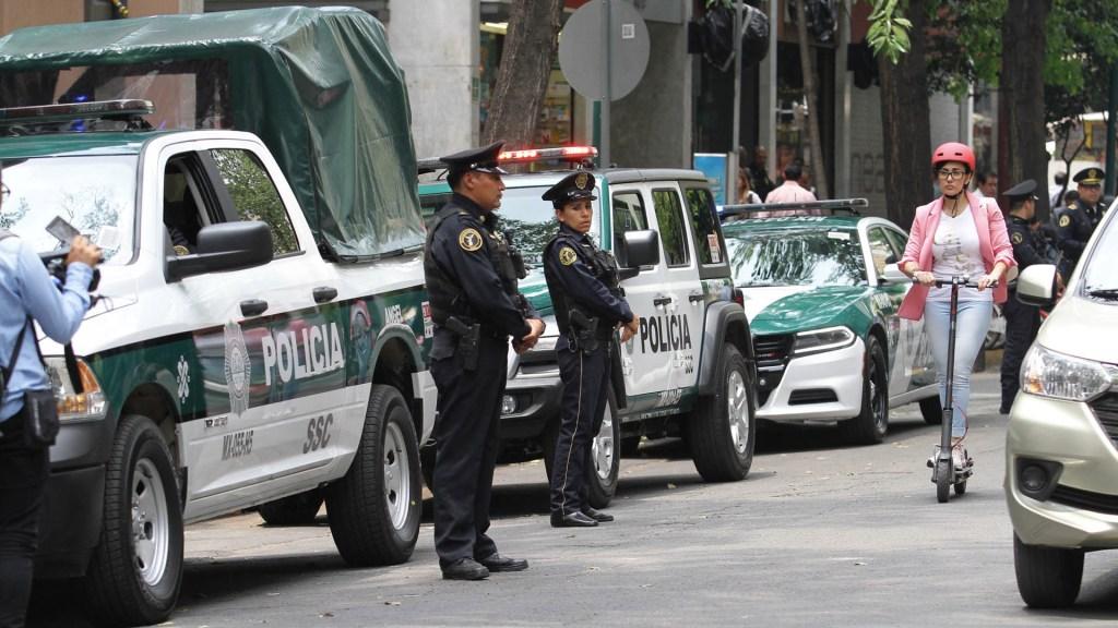 Suman 165 policías capitalinos remitidos al MP por distintos delitos - SSC Secretaría de Seguridad Ciudadana patrullas