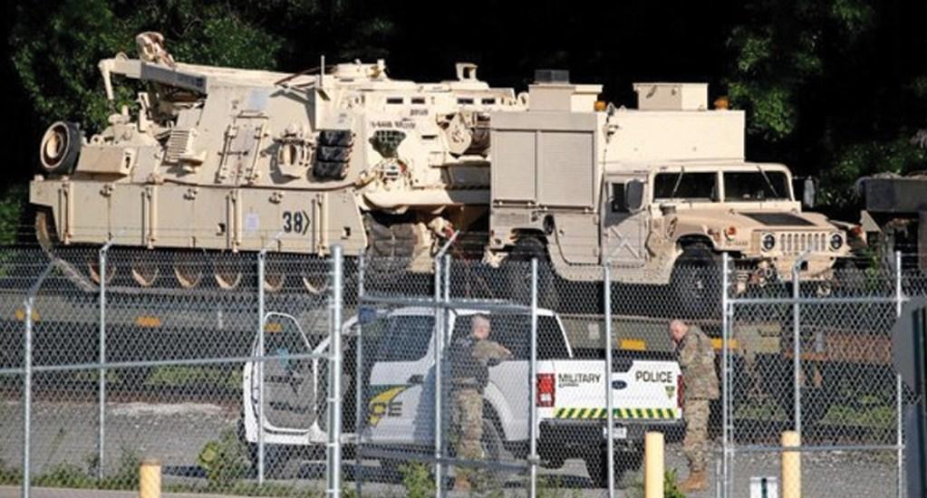Trump planea tanques militares como parte de la celebración del 4 de julio - Foto de CNN