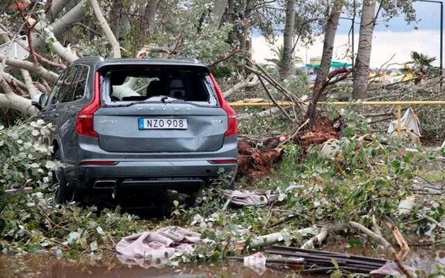 Temporal deja siete muertos y 108 heridos en Grecia - temporal lluvias grecia