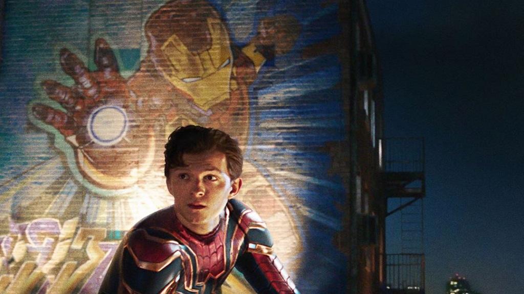 'Far From Home' se convierte en la cinta más taquillera de Spider-Man - Tom Holland en Spider-Man Far From Home. Foto de @spidermanmovie