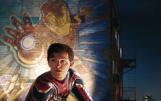 'Far From Home' se convierte en la cinta más taquillera de Spider-Man - Tom Holland en Spider-Man Far From Home. Foto de @spidermanmovie