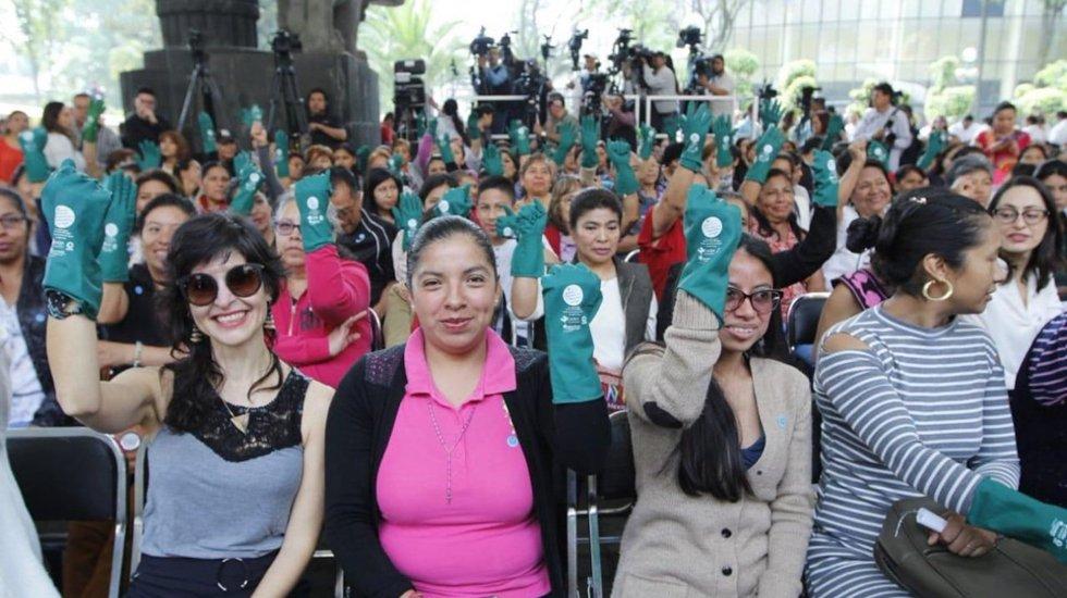 Expiden decreto de reformas en pro de trabajadoras del hogar - Trabajadoras del Hogar. Foto de @Tu_IMSS