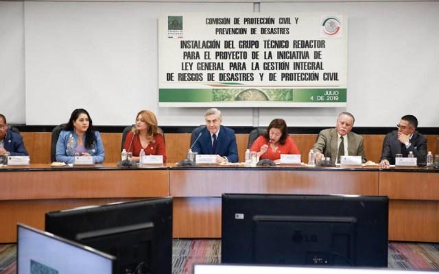 Inician trabajos para mejorar ley de protección civil - Trabajos Protección Civil ley