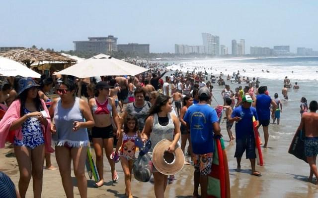 Ingresaron al país 7.7 millones de visitantes durante mayo - Acapulco con el arribo de turistas. Foto de Archivo Notimex-Adriana Covarrubias.