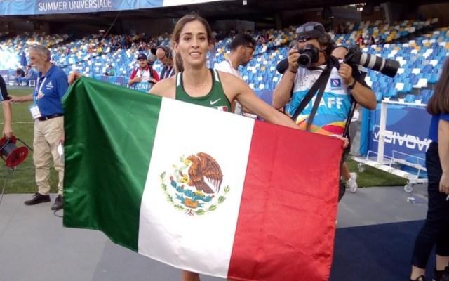 Atletas mexicanos se llevan el oro en Universiada - Universiada Paola Morán Nápoles