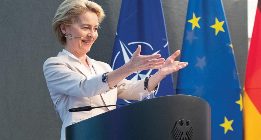 Nombran a Ursula vonderLeyen nueva presidenta de la Comisión Europea - Foto de EFE