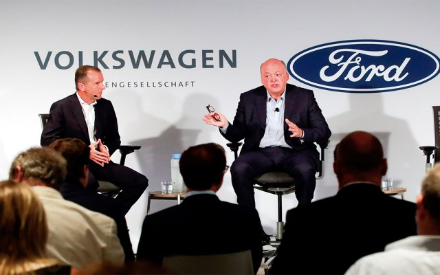 Volkswagen y Ford amplían cooperación en vehículos eléctricos y autónomos - volkswagen ford cooperación vehículos eléctricos