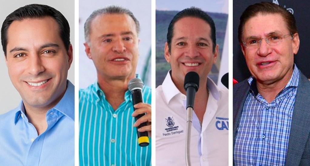 Vila, Ordaz, Domínguez y Aispuro los más honestos
