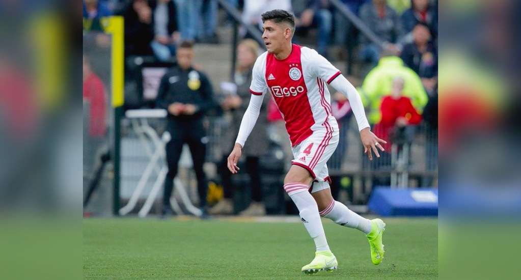 El Ajax golea al Venlo en el debut de Edson Álvarez - Foto de Edson Álvarez