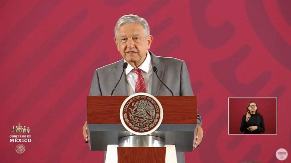 No hay diálogo con bandas del crimen organizado: López Obrador - López Obrador confe delincuencia