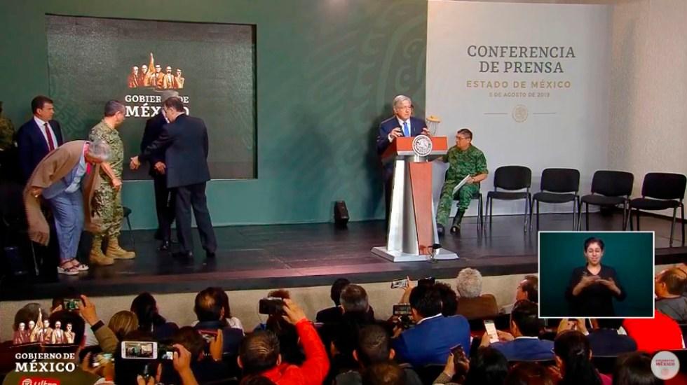 López Obrador niega acuerdo clandestino para introducir armas a México - amlo confe