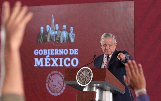 La gente está feliz, feliz, feliz; lo demostraré con encuesta del Inegi: AMLO - Andrés Manuel López Obrador. Foto de Notimex.