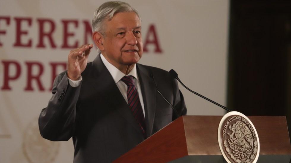 """""""Cargos no importan"""": AMLO sobre crisis Batres-Monreal (20-08-2019) - López Obrador. Foto de Notimex-Gustavo Durán)."""