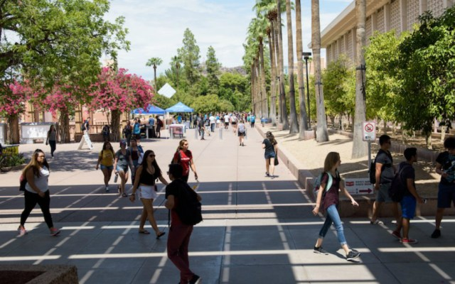 Universidades públicas de Arizona darán colegiaturas reducidas a 'dreamers' - Foto de Arizona Board of Regents