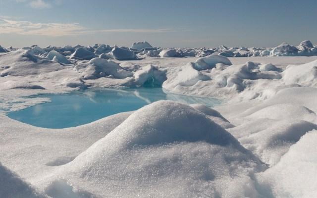 Científicos detectan microplásticos en el Ártico - Ártico. Foto de Kajetan Deja