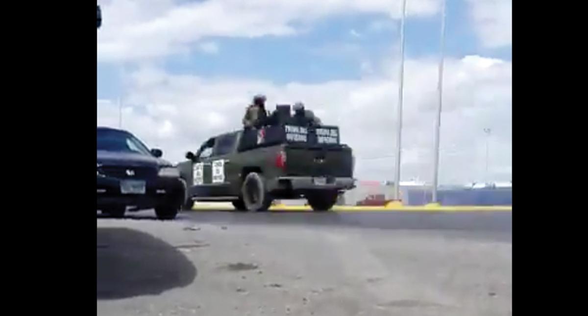 Narco ataca base de policía estatal en Nuevo Laredo