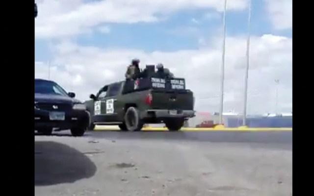 Balacera en Nuevo Laredo, Tamaulipas deja al menos un herido - Captura de pantalla