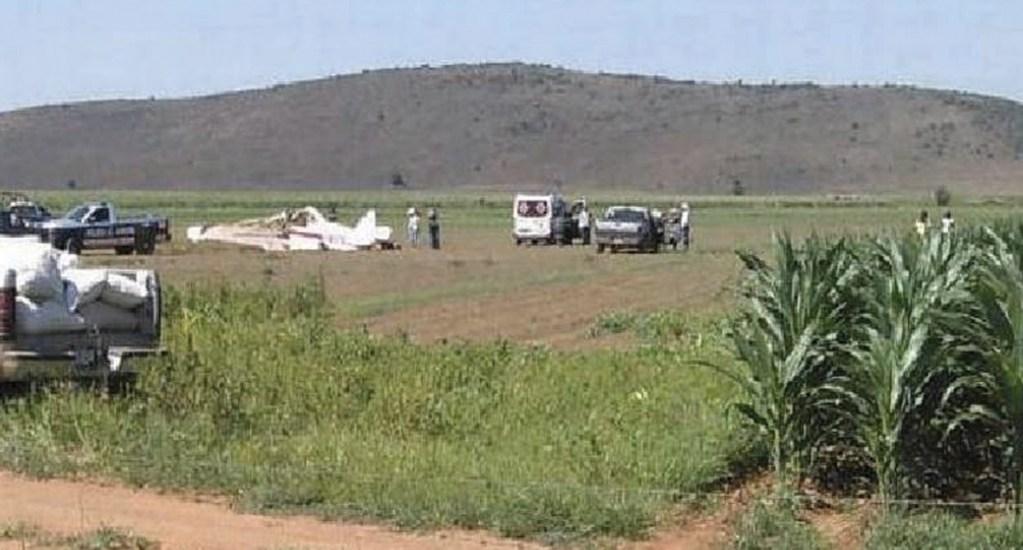 Desplome de aeronave en Chihuahua deja dos heridos - Foto de El Sol de Parral