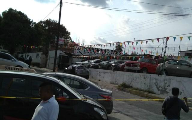 Mueren tres hombres por ataque armado en lote de autos de Cuernavaca - Foto de Quadratín