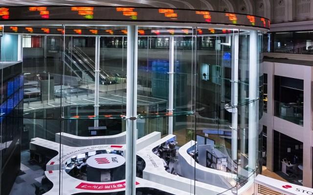 Bolsa de Tokio se desploma a mínimos de seis meses - Bolsa de Valores de Tokio. Foto de Kakidai / Wikimedia Commons