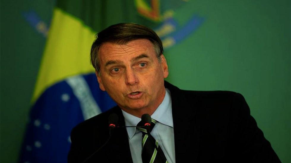 Macron debe retractarse para que acepte ayuda para la Amazonia: Bolsonaro - bolsonaro ayuda amazonia emmanuel macron