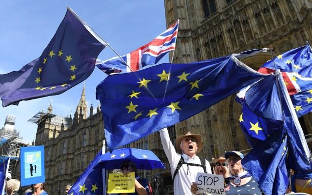 Londres buscará con Bruselas acuerdo para el 'Brexit' - Brexit. Foto de EFE
