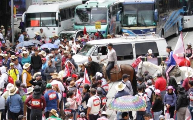 No voy a ser cómplice de corruptos: AMLO por bloqueos de campesinos - campesinos bloqueos