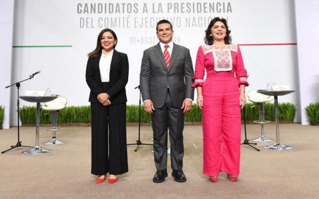 PRI celebra votación para elegir nueva dirigencia nacional - Candidatos a la dirigencia nacional del PRI. Foto de PRI