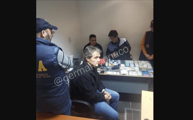 Liberan a Carlos Ahumada en Argentina - Carlos Ahumada al ser detenido el pasado viernes. Foto de Germán Mónaco.