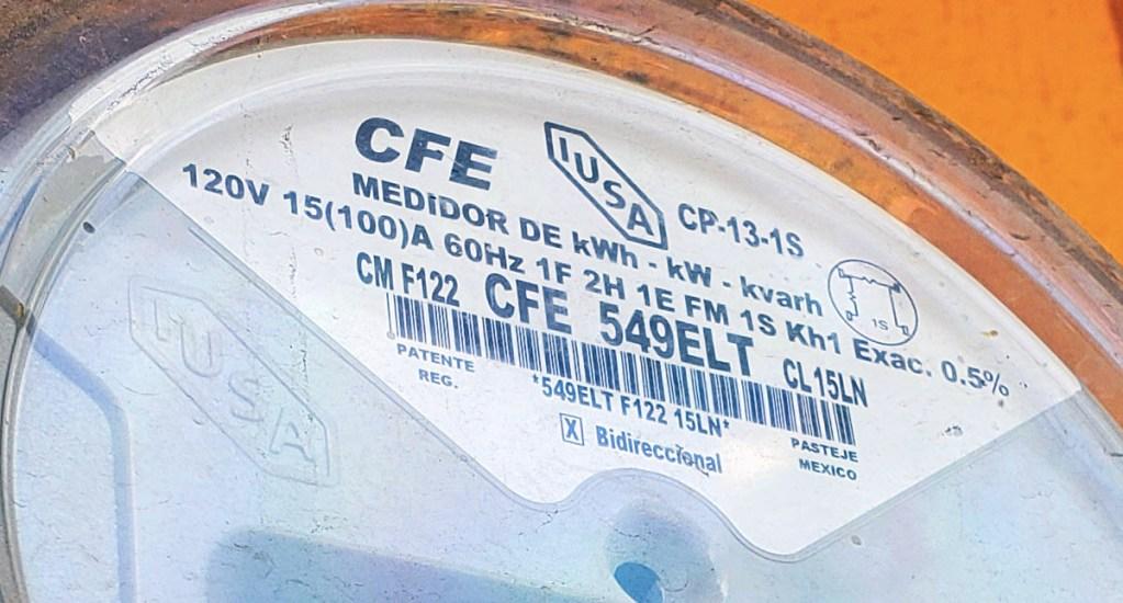 Pide AMLO limitar consumo eléctrico de 18:00 a 23:00 h; pese a crisis no habrá aumentos a la luz, asegura - CFE medidor Comisión Federal de Electricidad