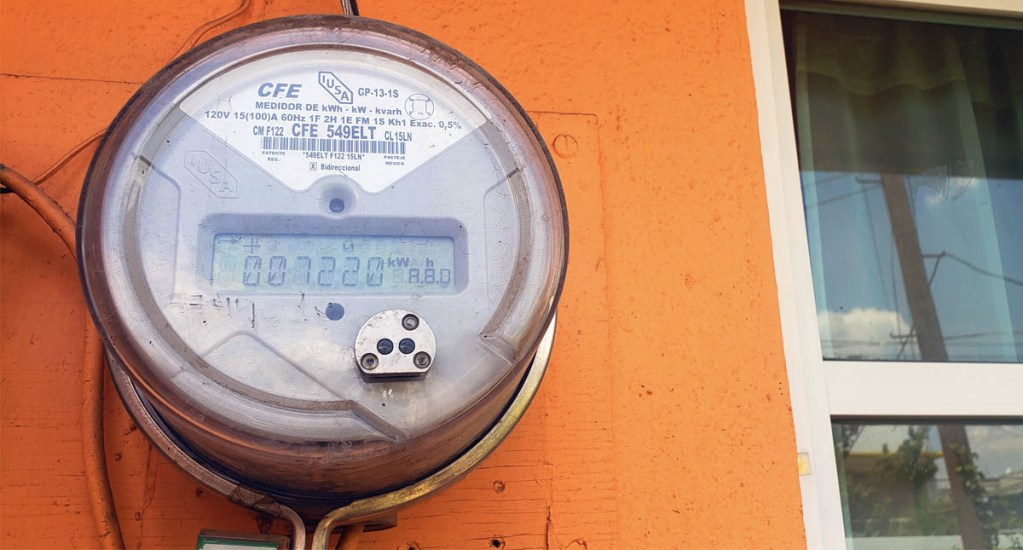 En caso de que aumente gas, se mantendrá precio de la luz: AMLO - CFE medidor Comisión Federal de Electricidad