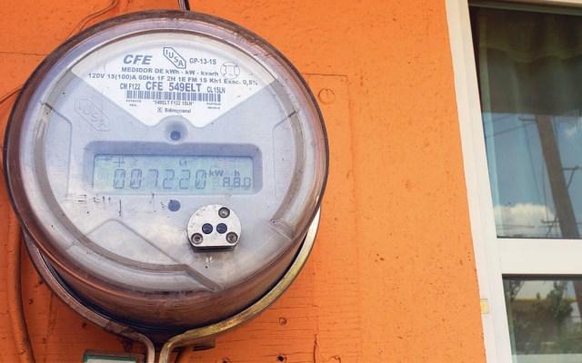 Tarifa doméstica de luz aumenta casi 4 por ciento - CFE medidor Comisión Federal de Electricidad