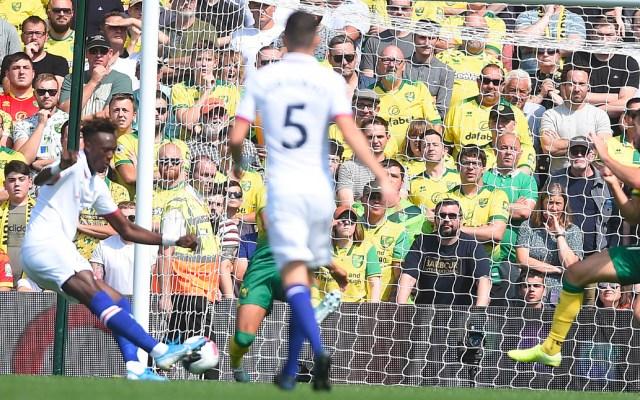 Abraham da primera victoria al Chelsea contra el Norwich City - Chelsea